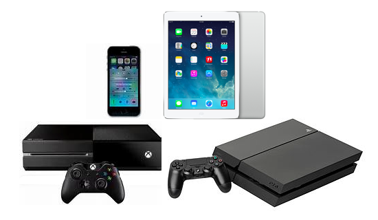 Consoles, Tables, iPods